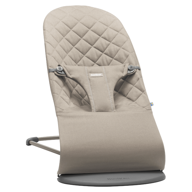 e0ae5c2725b Babybjorn ρηλάξ Bliss Sand gray cotton