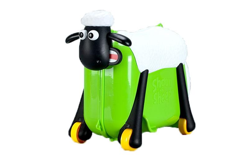 bb9f24c1f75 Shaun the Sheep παιδική βαλίτσα ταξιδιού,βάφτισης, περπατούρα,  παιχνιδόκουτο Σον το πράσινο πρόβατο
