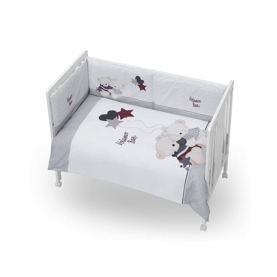 Interbaby σετ προίκας 9 τεμαχίων για κρεβάτι 70x140