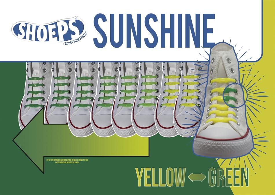 SHOEPS – ΤΑ ΚΟΡΔΟΝΙΑ ΠΟΥ ΔΕΝ ΛΥΝΟΝΤΑΙ ΜΕ UV-ΑΛΛΑΖΟΥΝ ΧΡΩΜΑ ΣΤΟΝ ΗΛΙΟ  YELLOW GREEN 0ef5066e5a2