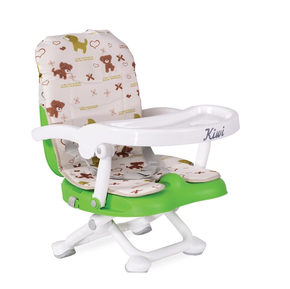 35ea605b9bb Cangaroo Kiwi Φορητό Παιδικό Καρεκλάκι Φαγητού 4 Επιπέδων - GREEN 6238261