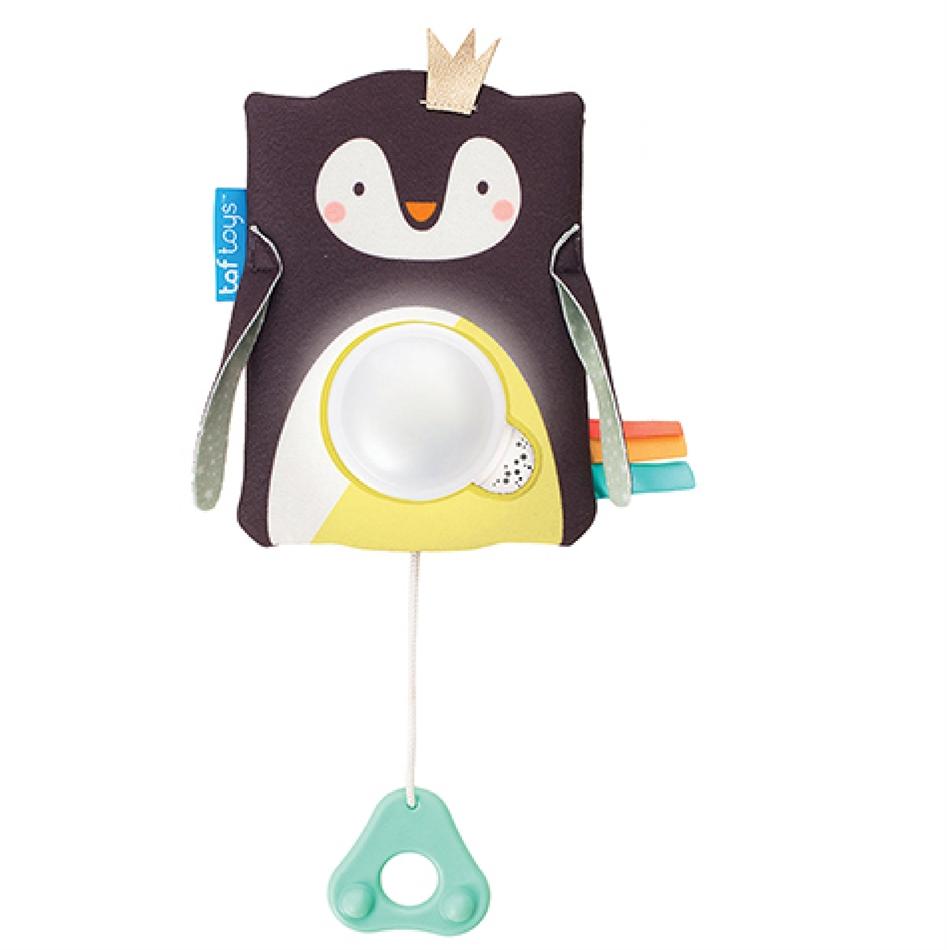 2b36ec2048ce Taf Toys κρεμαστό παιχνίδι με ήχους και φως -Prince the Penguin Baby  Soother 12275