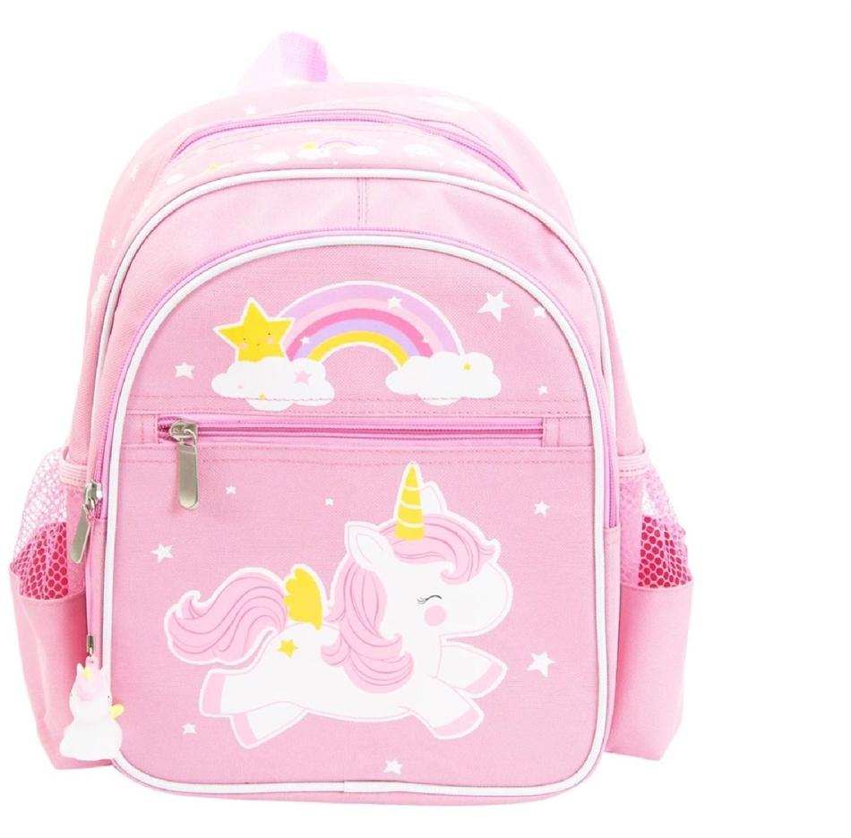 3d28aaa6d99 Little Lovely Company Παιδική τσάντα πλάτης Unicorn -BPUNPI11