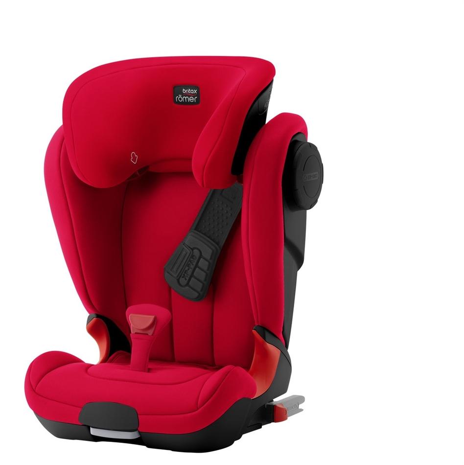 ffb2ea10faa BRITAX-ROMER Παιδικό Κάθισμα Αυτοκινήτου , 15-36 κιλά KIDFIX II XP SICT -  Black Series Fire Red + ΔΩΡΟ KICK MATS ΓΙΑ ΤΟ.