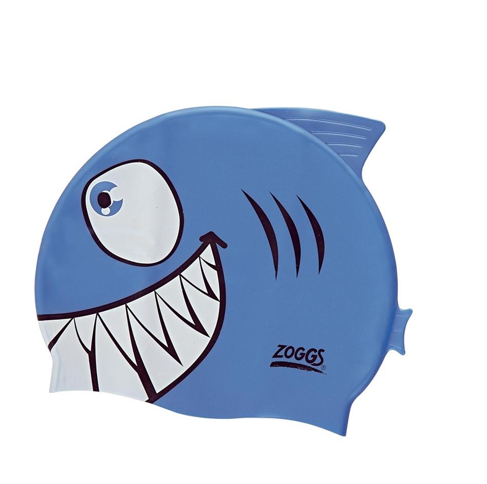 1461fdabf80 Zoggs Σκουφάκι κολύμβησης παιδικό σιλικόνης 'Καρχαρίας' - 301732