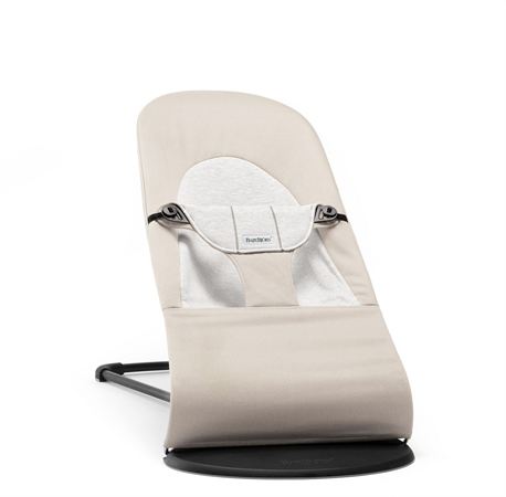 7324e849772 Babybjorn ρηλάξ Balance Beige/Grey, Cotton/Jersey