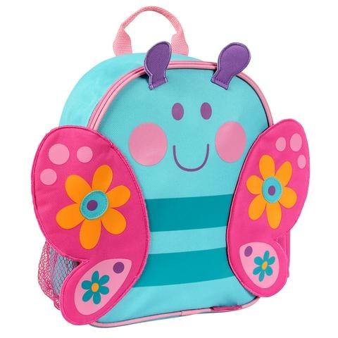 c3b84cb1878 Stephen Joseph παιδική προσχολική τσάντα Mini Sidekick Backpacks Butterfly