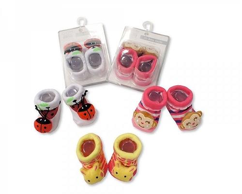 Καλτσάκια αντιολισθητικά-κουδουνίστρες της Nursery time κορίτσι 2251-03 1cacc9017c1