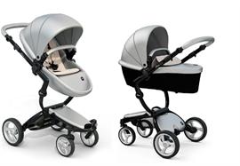 d3629a1c395 Mima Xari παιδικό καρότσι 2 σε 1 custom ARGENTO/BLACK