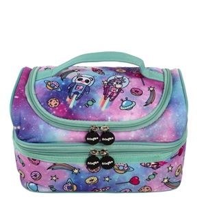 f6dae2684e Fringoo Ισοθερμική τσάντα TWO COMPARTMENT LUNCH BAG - SPACE FANTASY - 550173